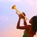 Trumpet Sunset
