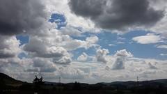 Cumulus humilis & Stratocumulus (to_isafold) Tags: himmel wolken landschaft stratocumulus odenwald sdhessen cumulushumilis
