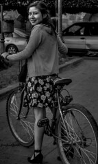 Brenda (josejuanzavala) Tags: portrait girl beauty bike mexico retrato young ltytr1