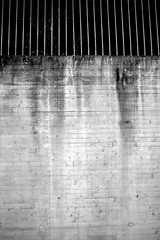 Concrete wall with fence (iconara.) Tags: wall concrete se sweden gothenburg vstragtalandsln industar69 xe2