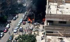 """وفاة الناة العام المصري """"هشام بركات"""" متأثراً بجراحه جراء استهداف موكبه (albaldtoday) Tags: مصري هشام النائبالعام"""