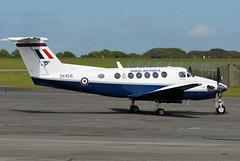 King Air, ZK456/P (WestwardPM) Tags: cornwall beechcraft beech raf kingair royalairforce newquayairport newquaycornwallairport zk456