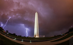 Lightning over Washington Monument July 1, 2015 (Anthony Quintano) Tags: storm weather washingtondc lightning washingtonmonument severeweather