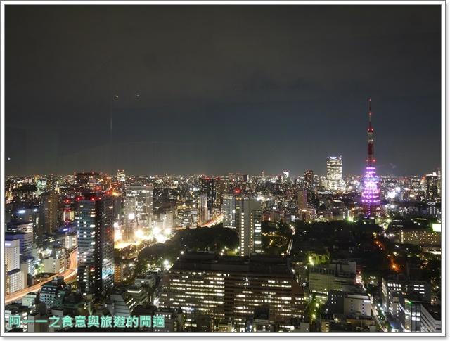東京景點夜景世界貿易大樓40樓瞭望台seasidetop東京鐵塔image031