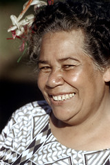 27-377 (ndpa / s. lundeen, archivist) Tags: portrait people woman flower color film smile face smiling festival fiji 35mm nick suva islander southpacific local 1970s 27 1972 dewolf oceania pacificartsfestival pacificislands pacificislander festivalofpacificarts flowerinherhair southpacificislands nickdewolf photographbynickdewolf festpac southpacificfestival reel27 southpacificartsfestival southpacificfestivalofarts fiji72