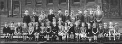 Yoker, Glasgow, Scotland (theirhistory) Tags: uk school girls boys socks shirt kids children photo shoes dress group skirt class teacher jacket junior gb zipper shorts form wellies primary wellingtons