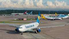Manchester Airport. (PRA Images) Tags: man airbus a330 manchesterairport egcc gomytthomascookairlines