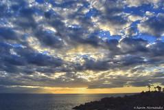 DSC_0237 (Aaron Hernandez Garcia) Tags: sol cielo nubes puestadesol puesta nube