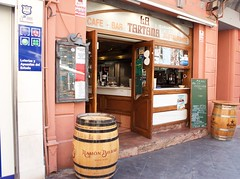 Cartagena (Bob Bain1) Tags: travel bar buildings cafe spain cartagena estrella canon550 costacalida latartana
