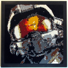 Master Chief in Lego (Mr. Jim Jo) Tags: art lego mosaic chief halo master