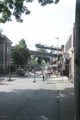 kraancrash Julianabrug-7279 (leoval283) Tags: bridge crash cranes pontoons ponton alphenaandenrijn alphen julianabrug hijskranen brugdek
