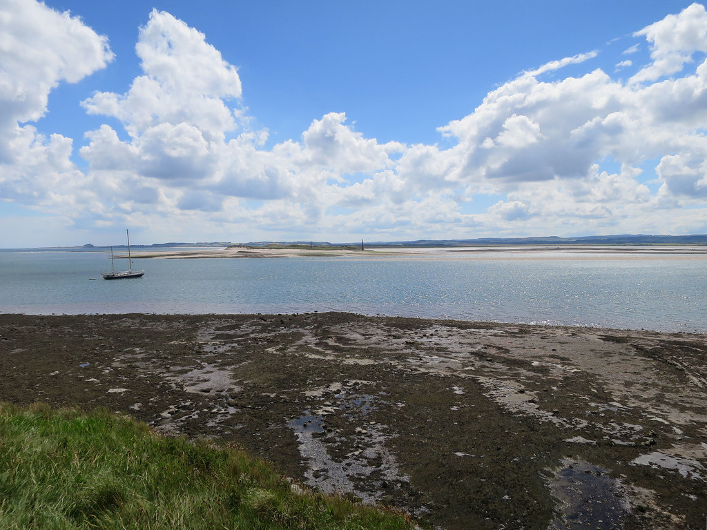 View from Lindisfarne southwards