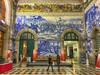 20161213_São Bento Railway Station (Damien Walmsley) Tags: tile azulejo panels porto history train station sãobento railway