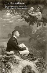 1910 09 07 Weser 5 (zimmermann8821) Tags: atelierfotografie damenmode deutscheskaiserreich fotografie herrenfrisur herrenhut herrenmode hose hut jungermann mann mannequin person postkarte sakko vorführdame