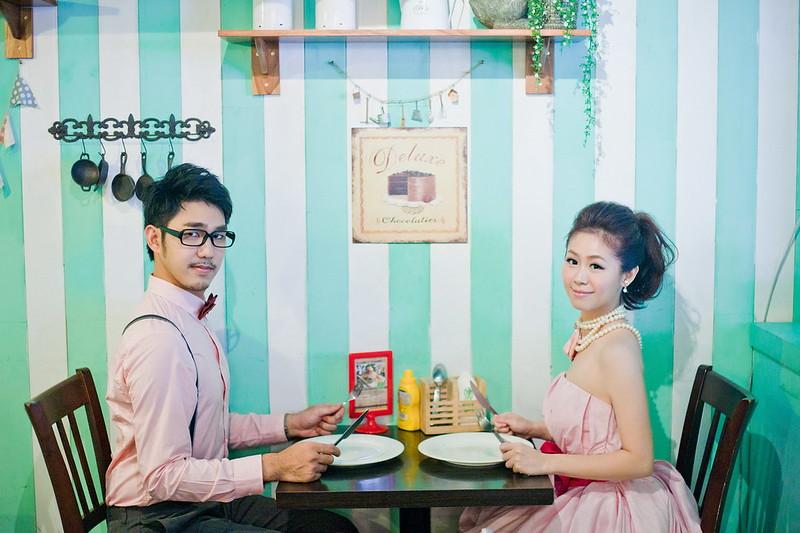 兔兔餐廳,新人婚紗,華山藝文特區,西門町,婚紗攝影