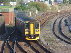 153318 & 153370 Penzance (14) (Marky7890) Tags: gwr 153318 class153 supersprinter penzance railway cornwall train 153370