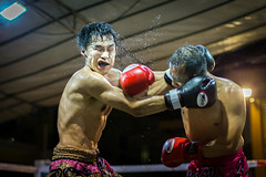 Fight Evolution 4 [Explored] (BP Chua) Tags: fight muaythai competition match people fighter punch water sweat expression face fightpromotion canon 1dx sport martialart