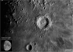 Copernicus Crater – January 7, 2017 (Tom Wildoner) Tags: tomwildoner leisurelyscientistcom leisurelyscientist astronomy astronomer astrophotography crater lunar moon copernicus solarsystem zwo asi290mc meade telescope lx90 celestron cgemdx nightsky night sharpcap autostakkert imagesplus registax weatherly pennsylvania