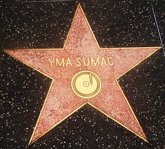 "Hollywood Walk of Fame - Yma Sumac / Exotic Peruvian Goddess or ""Amy Camus"" spelled backwards? (ramalama_22) Tags: la los angeles hollywood walk fame star yma sumac exotic singer amy camus spelled backwards peruvian soprano exotica wide vocal range 1950s"