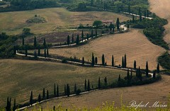 La Foce (Rafemago) Tags: goldcollection italy tuscany outdoor grassland foce landscape hill road landmark canon flickr canon70d