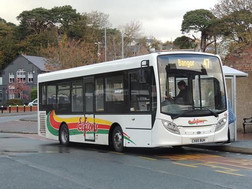 DSCN7792 Eifion's Coaches, Gwalchmai 4 CX65 BUH