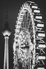 Berlin (mripp) Tags: urban city stadt night nacht alexanderplatz berlin germany deutschland europa europe black wate mono monochrom art kunst silhouette funkturm sony alpha7rii leica 50mm summicron