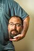 Hold Me Tightly (huskerman76) Tags: head hold face photoshop profile fun funny headless glasses beard goatee