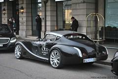 Morgan Aero8 Supersports - Monaco (Helvetics_VS) Tags: sportcars morgan aero8 supersports licenseplate monaco