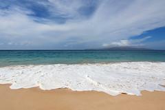 Oneloa Beach (russ david) Tags: big beach makena state park oneloa maui hi hawaii pacific ocean wave september 2016