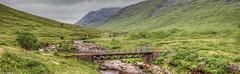 Glen Etive; West Scotland (Michael Leek Photography) Tags: scotland scottishlandscapes scotlandslandscapes scottishhighlands michaelleek hdr landscape landscapes michaelleekphotography highdynamicrange highlands westernhighlands glenetive glen rain river bridge thisisscotland awesomescotland nature naturalbeauty remote wild