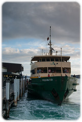 Manly Ferry Freshwater on a Gloomy Day (Craig Jewell Photography) Tags: boat clouds cloudy ferry freshwater manly moored overcast sydney wharf ¹⁄₃₅₀sec f35 0ev pentaxk10d iso100 20100314183142igp7419pef craigjewell