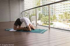 Kapotasana (angeloben) Tags: kapotasana azure yoga kundalini