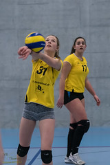 170211_VBTD5-Mstein_035 (HESCphoto) Tags: volleyball vbtherwil vbcmünchenstein 99ersporthalle damen 4liga therwil saison1617