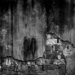 hold your horses (Stian S.) Tags: grit gritty concrete bricks 6x6 black white bw square medium format film analog anlogue hasselblad 500c kodak tmax 400 rodinal epson v700 travel asia china street