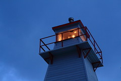 IMG_8650_Fort Amherst Lighthouse in nautical twilight (daveg1717) Tags: fortamherstlighthouse fortamherst stjohns newfoundlandlabrador lowlight nauticaltwilight lighthouse