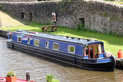 Narrow Boat Kimberley (NTG's pictures) Tags: forest boats boat canal district derbyshire forum rally transport peak basin kimberley narrow gardner whaley bugsworth bridgebuxworthbugsworth
