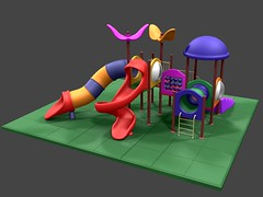 PLAYGROUND SET (everettStromfield) Tags: park game kids 3d backyard mesh prefab plastic secondlife marketplace ur ao specular items childs lowpoly customs assets 3dmodels playgroud highquality prefabs lowli fullperms lowprims meshprims puremesh
