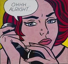 DTK_9330r Ohhh Alright, Roy Lichtenstein, 1964 (crobart) Tags: chicago art roy institute ohhh 1964 lichtenstein alright