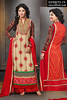 Akshara Designer Palazzo Straight Suit