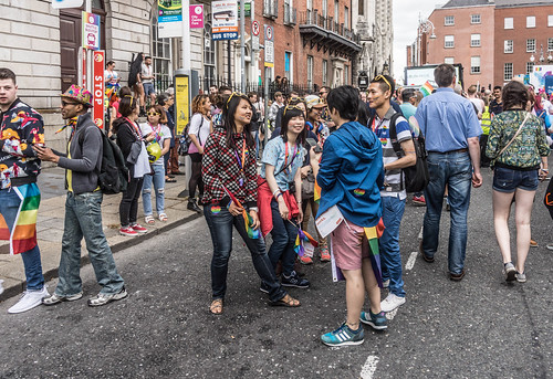 DUBLIN 2015 LGBTQ PRIDE PARADE [WERE YOU THERE] REF-105956