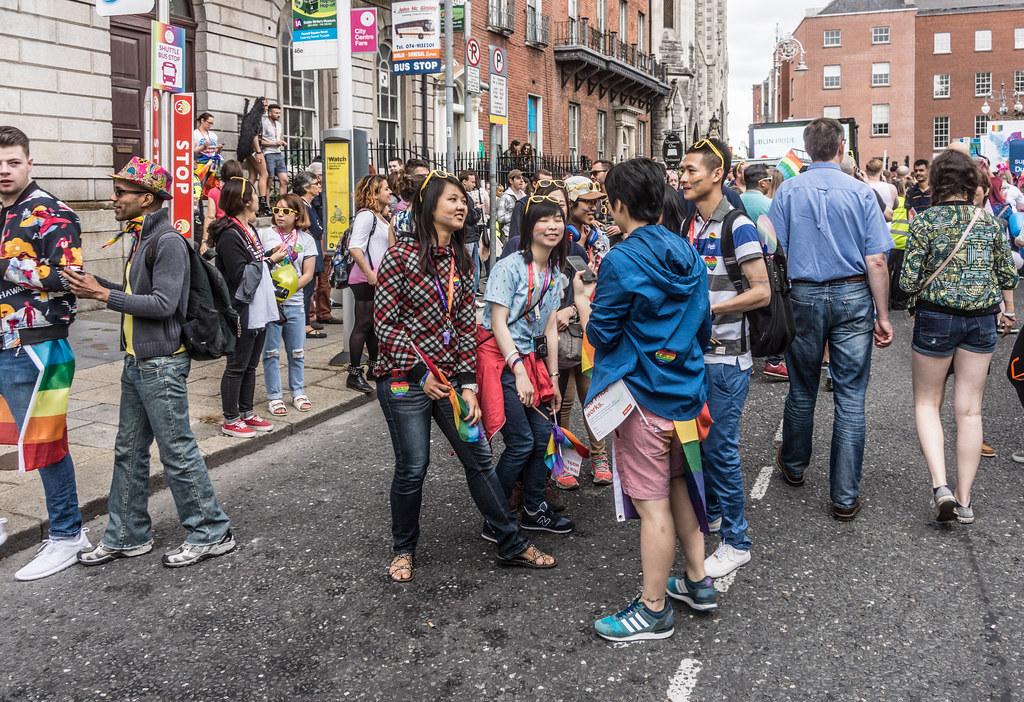 DUBLIN 2015 LGBTQ PRIDE PARADE [WERE YOU THERE] REF-105956