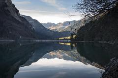 Klöntalersee in der Gemeinde Glarus, Kanton Glarus