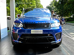Range Rover Sport SVR (alessiochiolo) Tags: blue italy english love beauty car sport torino design photo metallic quality performance engine like engineering rover super front led exposition massive land petrol suv sick range powerful premium v8 supercharged trill svr sportcar