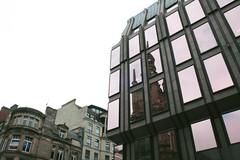 (emmelineh) Tags: street windows sky reflection building glass architecture scotland high glasgow buchanan highstreet
