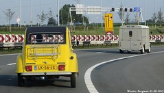 Citron 2CV 1984 (XBXG) Tags: auto old france holland classic netherlands car vintage french automobile nederland citron voiture 1984 2cv a1 frankrijk paysbas diemen eend geit ancienne a9 2pk 2cv6 citron2cv franaise deuche deudeuche lk56js