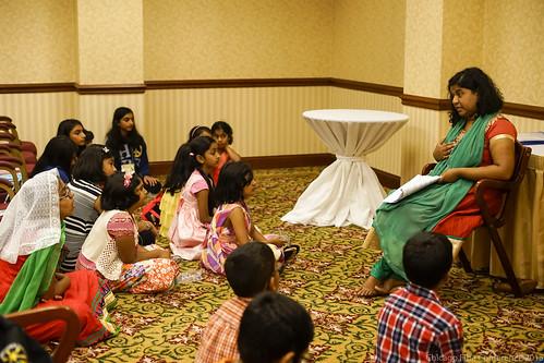 Sis. Jinsy Abraham with kids
