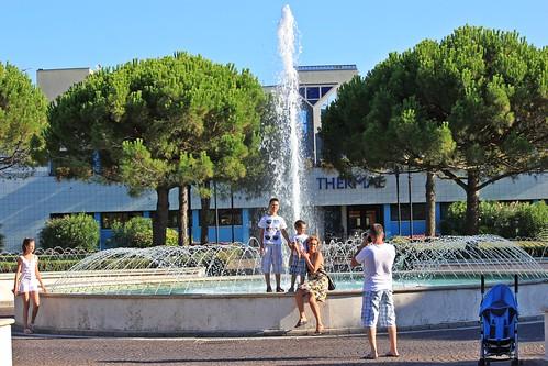 foto alla fontana - Bibione