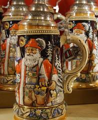 Santa Stein (LegionCub) Tags: walt disney world epcot center germany christmasaroundtheworld xmas holidays santaclaus beer stein orlando florida sony