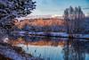 A frosty sonny day (hloklm) Tags: winter winterlandschaft winterwald wintersonne wintertag teltowkanal kanal wasser schnee reif spiege spiegelung