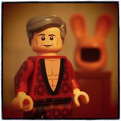 Hugh Hefner (legophthalmos) Tags: lego hughhefner playboy girlsruntheworld